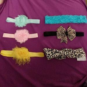 👶Baby girl 💝 headbands 6 ct